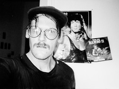 trainings buddy (Walther Le Kon) Tags: analog film rambo johnrambo coloneltrautman traingspartner bloodsweatandtears waltherlekon moi