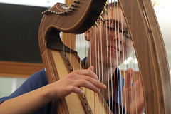 2 of Harps 1582 (Tony Withers photography) Tags: musicians harpists duo adel karina wilson music