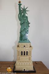 Lego_Architektur_9205 (Lothar Heller) Tags: freiheitsstatue lotharheller statueofliberty architecture architektur brick lego legosteine steine