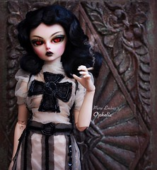Ophelia ❤️ (pure_embers) Tags: pure embers resin bjd 14 doll dolls ns uk girl minifee marcia ophelia msd pureembers pureembersophelia photography photo ball joint portrait smoking red eyes goth gothic gothgirl