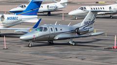 Eclipse EA500 N62TE (ChrisK48) Tags: kdvt n62te aircraft airplane eclipseea500 phoenixaz dvt phoenixdeervalleyairport 2007