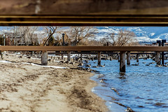 Beach Walk-4 (melbaczuk) Tags: kelowna gyro beach okanaganlake okanagan kelownabc winter lake kelownanow exlorebc canon canon5dmark4