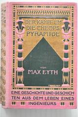 Jugendstil Book Cover in pink - 1908 (Jojorei) Tags: rosa pink jugendstil sezession mormorpapier bookbinding geschichte history collecting sammeln antik antique design art kunst rose