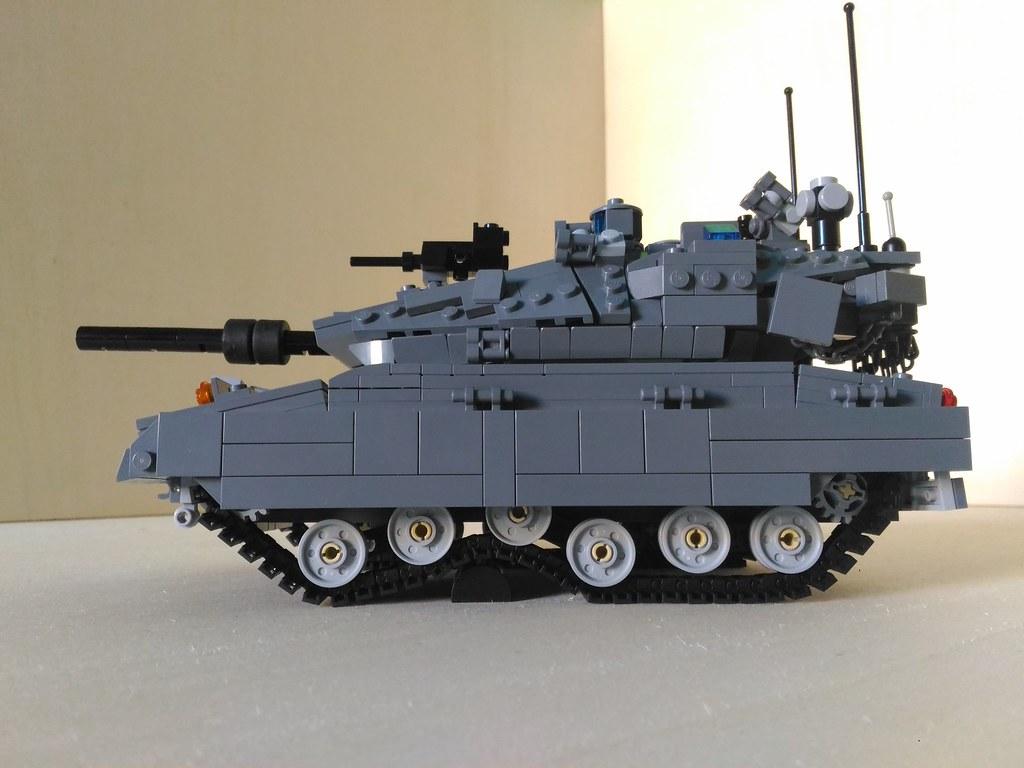 a5bb0b76420c Lego Merkava MK4 M Main Battle Tank (2) (Parm Brick) Tags