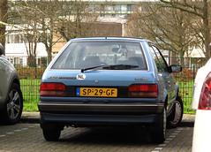 1987 Mazda 323 1.5 GLX (rvandermaar) Tags: 1987 mazda 323 15 glx mazda323 familia mazdafamilia sidecode4 sp29gf