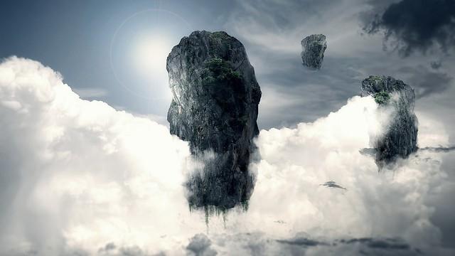 Обои облака, небо, абстракция картинки на рабочий стол, фото скачать бесплатно