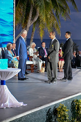 Andrew Smilley Leaves Stage (Cayman Islands Government Information Services) Tags: royal visit cayman prince wales duchess cornwall pedro st james united kingdom great britain