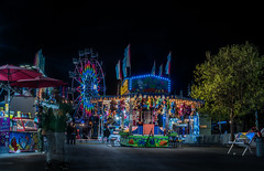are you taking a picture of me? (pbo31) Tags: eastbay alamedacounty bayarea california nikon d810 color night dark black april 2019 boury pbo31 oakland butler amuesments fair carnival ride lightstream spinning motion traveling