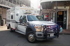 New Orleans EMS (Martijn Groen) Tags: neworleans louisiana unitedstates usa november 2017 ford f450 medtec type1 ambulance ems emt paramedics paramedic emergency