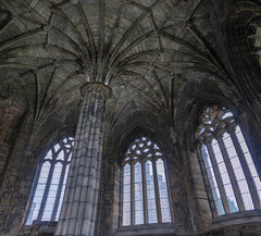 Elgin Cathdral Chapter House (Mac ind Óg) Tags: elgin summer scotland moray church window vault elgincathedral roof dome column ruin holiday cathedral
