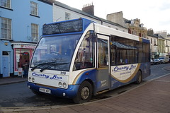 MX58 ABO, 318, Teignmouth, 23/1/19 (archieaustin591) Tags: teignmouth bus country buses psv transport public optare solo abo mx58 319