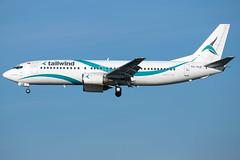 Tailwind Airlines B737-4Q8 TC-TLD (wapo84) Tags: bru ebbr b737 tailwind tctld