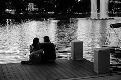 Echo Park Lake (Jordan Barab) Tags: echopark losangeles california blackandwhite bb sonydscrx100markiii street streetphotography echoparklake