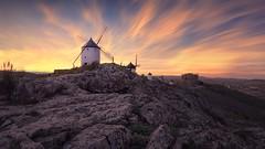 SUNSET AT TOLEDO (Jona Flores) Tags: sunset sky clouds horizon dusk beautiful travel spain windmill landscape rocks mountain