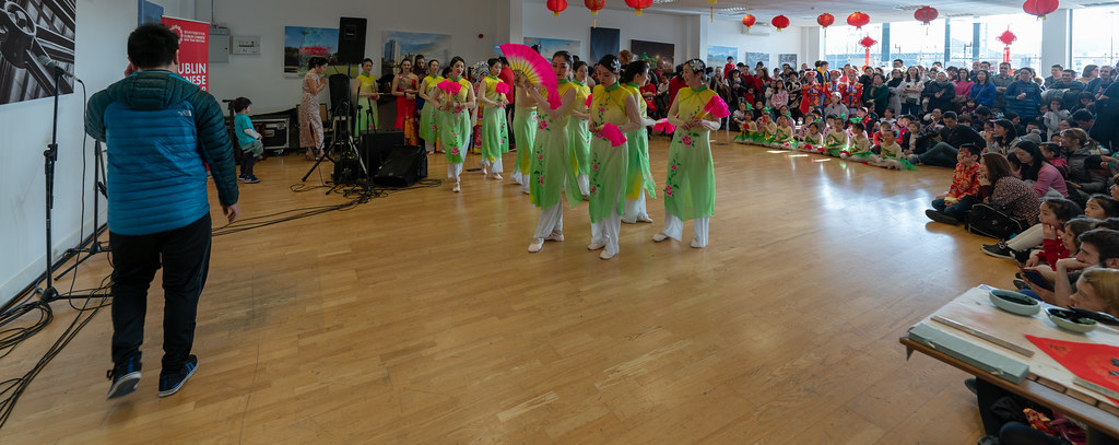 YEAR OF THE PIG - LUNAR NEW YEAR CELEBRATION AT THE CHQ IN DUBLIN [OFTEN REFERRED TO AS CHINESE NEW YEAR]-148923