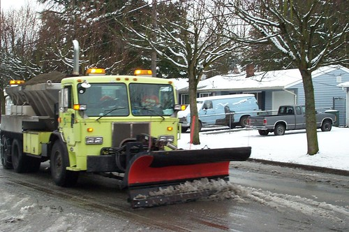 Seattle February 2019 Snowstorms - prep and response