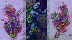 (K)AnalArt_56d Dreieinigkeit (wos---art) Tags: proudly stolz familymembers familienaufstellung lebensverhältnis dreieinigkeit sohn vater mutter child father mother bildschichten kanal art three communication kommunikation flowers blumen tulpen rosen farbkomposition sakrale räume