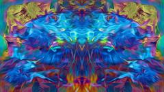 (K)AnalArt_54 (wos---art) Tags: bildschichten kanal art three communication kommunikation flowers blumen tulpen rosen farbkomposition sakrale räume