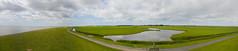 Bird refuge (sytsevanderweij) Tags: ameland panorama dike bird refuge