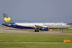 LY-VED (QC PHOTOGRAPHY) Tags: manchesterairport england may 19th 2018 thomas cook airlines avion express aeroflot cs a321200 lyved