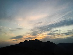 Satisfaction (dilaynurtezgul) Tags: countryside landscape natural sunsetsky clouds summit sunset color skycolor evening sky mountain nature