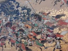 Carcassonne - Musée des Beaux-Arts (Fontaines de Rome) Tags: aude carcassonne musée beaux arts exposition samouraï art symbolisme japon combat invasion mongole peinture japan samurai 日本 美術 侍 象徴主義