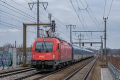 1216 228 ÖBB Rail Cargo Carrier Wien Haidestraße 03.02.19 (Paul David Smith (Widnes Road)) Tags: 1216228 öbb rail cargo carrier wien haidestrase 030219 1216 taurus