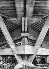 The Arrow (Joseph Pearson Images) Tags: building architecture abstract brutalism brutalist denyslasdun concrete london nationaltheatre blackandwhite bw mono