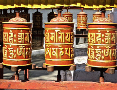 """""""Postcard from Punjab"""" (Halvorsong) Tags: himalaya himalayas religion culture prayer color red yellow wow composition contrast asia buddhism contemplation travel travelphotography art classic vintage india tibet nepal explore discover old oldschool ancient globe world halvorsong"""