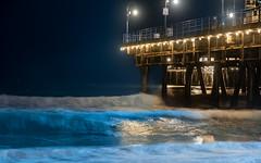 Santa Monica Pier (Michael Eckmann) Tags: pier santa monica california waves water