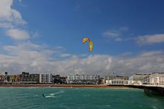 2018_08_15_0035 (EJ Bergin) Tags: sussex westsussex worthing beach seaside westworthing sea waves watersports kitesurfing kitesurfer seafront thepier lewiscrathern