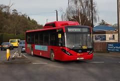 Rugby Shuttle, Go Ahead London, SEe48, LJ66CJU (Jack Marian) Tags: rugbyshuttle goaheadlondon see48 lj66cju byd enviro200mmc e200mmc alexander dennis alexanderdennis d9ur bydd9ur twickenham richmond buses bus london