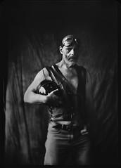 Mr. J. portrait (wozaczynski) Tags: portrait large format xray 5x7