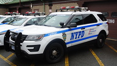 NYPD Highway Patrol (Emergency_Spotter) Tags: nypd nyc new york police department ford interceptor sedan utilities suv steelies vision dual spotlights misc queens highway patrol unit 3