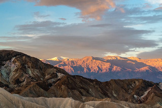 Sunrise from Zabriskie Point