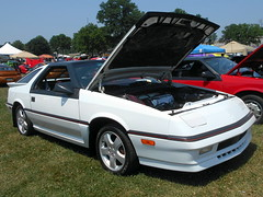 1988 Dodge Daytona Shelby Z (splattergraphics) Tags: 1988 dodge daytona shelbyz turbo fwdmopar mopar carshow carlisle carlisleallchryslernationals carlislepa