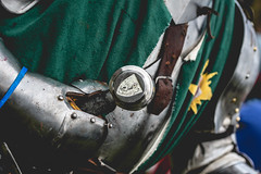 Sword_ (Andy..D) Tags: commandery d500 worcester worcestercommandery armour sword menatarms manatarms knight poleaxe battle axe portrait medieval chainmail reenactment helmet helm shield