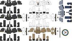 United States Navy (Desert fox Customs) Tags: ww2 wwii custom lego decals templates uniform minifig navy us winter sailor