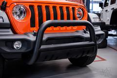 Jeep Wrangler Jl Orange Front Bumper Guard With Skid Plate (crownautony) Tags: jeep wrangler jl orange front bumper guard with skid plate