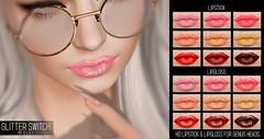 .E l e i. - Glitter Switch (Lipstick & Lipgloss) @ Spring Flair 2019 (EleiGM) Tags: genus secondlife elei lipstick lipgloss makeup virtual 3d avatar