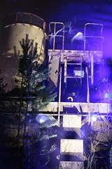 . (Lauri S Laurén) Tags: art artphoto photoart contemporaryart outsiderartist laurilaurén suomi finland taide outsiderart machine longexposure lightpainting lightdrawing lightart multiexposure pine