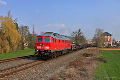233 232-8 DB Cargo (Zugbild) Tags: bahn rail railroad railway dbag thüringen diesellok train br232 br132 ludmilla güterzug db cargo grosrusse bad köstritz