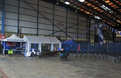 Final preparations inside Hangar 5 at VRT HQ, Southend Airport 17.06.18 (Trevor Bruford) Tags: vrt vulcan restoration trust xl426 southend airport avro nuclear bomber cold war plane jet aircraft airplane aviation raf tin triangle delta lady royal air force hangar 5
