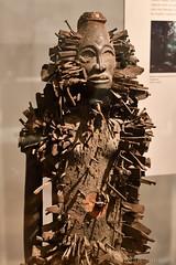 Minkisi Figure (19th Century) (Bri_J) Tags: britishmuseum london uk museum historymuseum nikon d7500 minkisi figure statue kongopeople democraticrepublicofcongo africanart