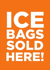 ICE bags (foodworksclovelly) Tags: shop ice bags products foodworks clovelly party 35kg call for order 02 9664 7639