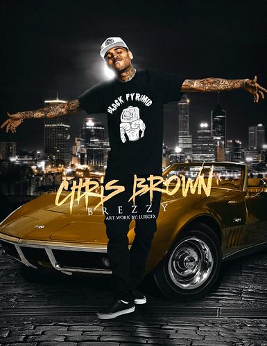 Chris Brown fan photo