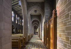 Basilica (Paul Buckingham) Tags: edmonton alberta canada basilica indoor light wideangle