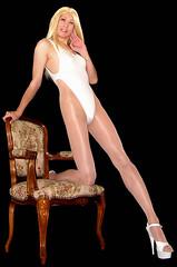 0101 (Youko_Kishida) Tags: fetish crossdresser tgirl leotard crossdressing pantyhose stocking tights lycra