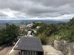 View from Salita Alla Rocca, San Marino