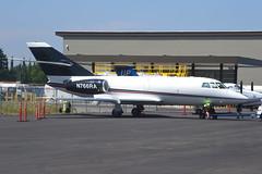 N766RA (LAXSPOTTER97) Tags: dassault falcon 20f n766ra cn 360 royal air freight inc airport airplane aviation kpdx